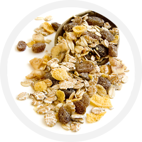 slider experience cerchio cereali