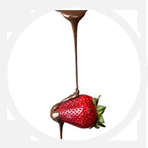 slider experience cerchio fragola cioccolato
