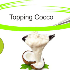 Topping cocco