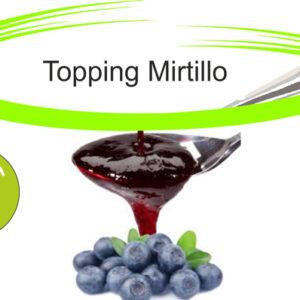 Topping mirtillo