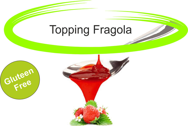 Topping fragola