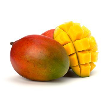 Variegated mango and pineapple