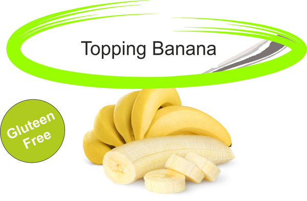 Topping banana