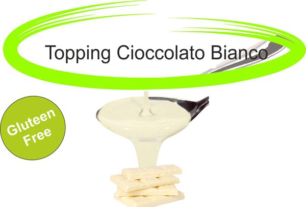 Topping cioccolato bianco
