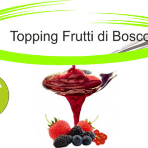 Topping frutti di bosco
