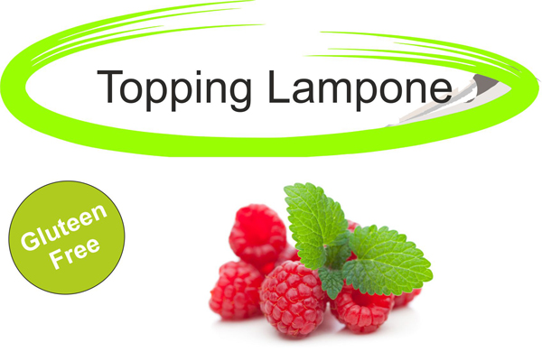 Topping lampone